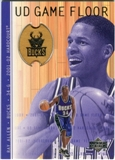 2001/02 Upper Deck Hardcourt UD Game Floor #RA Ray Allen