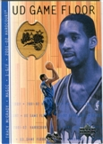 2001/02 Upper Deck Hardcourt UD Game Floor #TM Tracy McGrady