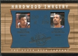 2001/02 Upper Deck Inspirations Hardwood Imagery Combo #AH/LS Latrell Sprewell Allan Houston