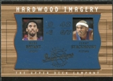2001/02 Upper Deck Inspirations Hardwood Imagery Combo #KB/JS Jerry Stackhouse Kobe Bryant