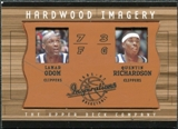 2001/02 Upper Deck Inspirations Hardwood Imagery Combo #LO/QR Lamar Odom Quentin Richardson