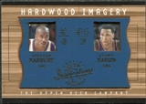 2001/02 Upper Deck Inspirations Hardwood Imagery Combo #SM/SM Stephon Marbury Shawn Marion