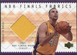 2001/02 Upper Deck NBA Finals Fabrics #GFF Greg Foster