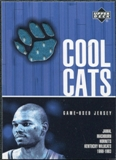 2001/02 Upper Deck Cool Cats Jerseys #JMC Jamal Mashburn