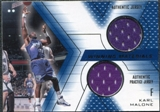 2001/02 Upper Deck SPx Winning Materials #KM Karl Malone Jersey / Jersey