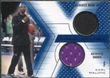 2001/02 Upper Deck SPx Winning Materials #KM2 Karl Malone Warm Up / Shorts