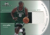 2002/03 Upper Deck MVP Materials Shooting Shirt #AWS Antoine Walker
