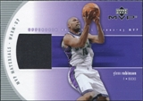 2002/03 Upper Deck MVP Materials Warm Up #GRW Glenn Robinson