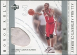2001/02 Upper Deck Honor Roll All-NBA Authentic Jerseys #10 Shareef Abdur-Rahim