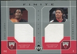 2002/03 Upper Deck Finite Elements Dual Warm-Ups #ECTC Eddy Curry Tyson Chandler