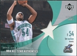 2002/03 Upper Deck All-Star Authentics Shorts #LNAS Lee Nailon