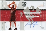 2002/03 Upper Deck UD Glass Magnifying Glass Autographs #JMA Jamaal Magloire