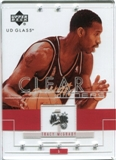 2002/03 Upper Deck UD Glass #95 Tracy McGrady Clear Winners