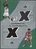 2002/03 Upper Deck SPx Winning Combos #KGWS Kevin Garnett Wally Szczerbiak