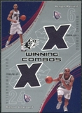 2002/03 Upper Deck SPx Winning Combos #KMRJ Kenyon Martin Richard Jefferson