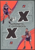 2002/03 Upper Deck SPx Winning Combos #SMSM Stephon Marbury Shawn Marion