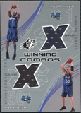 2002/03 Upper Deck SPx Winning Combos #TMMM Tracy McGrady Mike Miller SP