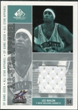 2002/03 Upper Deck SP Game Used All-Star Apparel #LNAS Lee Nailon