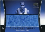 2004/05 Upper Deck Sweet Shot Signature Shots Blue #JN Jameer Nelson Auto