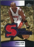 2004/05 Upper Deck Sweet Shot Swatches #LO Lamar Odom