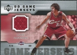 2005/06 Upper Deck Game Jerseys #LU Luke Jackson