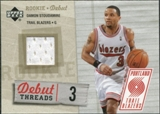 2005/06 Upper Deck Rookie Debut Threads #DS Damon Stoudamire