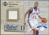 2005/06 Upper Deck Rookie Debut Threads #JC Jamal Crawford