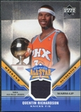 2005/06 Upper Deck All-Star Weekend Authentics #QR Quentin Richardson