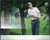 2004 Upper Deck SP Signature Shots 8 x 10 #FF Fred Funk Autograph