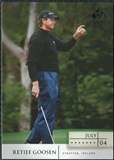 2004 Upper Deck SP Signature #3 Retief Goosen