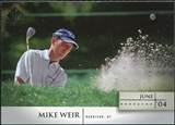 2004 Upper Deck SP Signature #4 Mike Weir