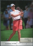 2004 Upper Deck SP Signature #34 Karrie Webb