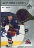 2005/06 Upper Deck SP Game Used Authentic Fabrics #AFRN Rick Nash