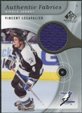 2005/06 Upper Deck SP Game Used Authentic Fabrics #AFVL Vincent Lecavalier