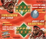2007/08 Upper Deck Basketball 24-Pack Box