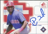 1999 Upper Deck SP Signature Autographs #RMA Ruben Mateo