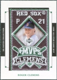 2003 Upper Deck UD Patch Collection MVP's #MVP10 Roger Clemens 1986