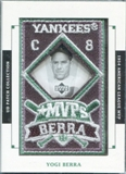 2003 Upper Deck UD Patch Collection MVP's #MVP15 Yogi Berra 1954
