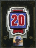 2003 Upper Deck Sweet Spot Patches #CP1 Corey Patterson