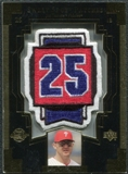 2003 Upper Deck Sweet Spot Patches #JT1 Jim Thome