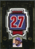 2003 Upper Deck Sweet Spot Patches #VG1 Vladimir Guerrero