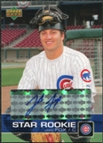 2003 Upper Deck Prospect Premieres Autographs #P30 Jake Fox