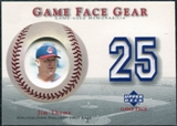 2003 Upper Deck Game Face Gear #JT Jim Thome
