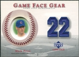 2003 Upper Deck Game Face Gear #MPR Mark Prior