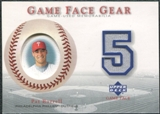 2003 Upper Deck Game Face Gear #PB Pat Burrell
