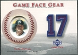 2003 Upper Deck Game Face Gear #TH Todd Helton SP