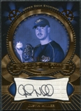 2004 Upper Deck Etchings Etched in Time Autograph Black #JM Justin Miller /325