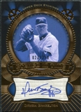 2004 Upper Deck Etchings Etched in Time Autograph Blue #DB Dewon Brazelton /250