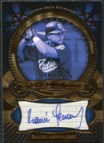 2004 Upper Deck Etchings Etched in Time Autograph Blue #HE Ramon Hernandez /150