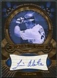 2004 Upper Deck Etchings Etched in Time Autograph Blue #LM Luis Matos /150